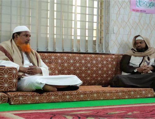 মিডিয়া ব্যক্তিত্ব, আলোচক, মুফতি গাজী সানাউল্লাহ রাহমানী হাফিজাহুল্লাহ'র শামীমাবাদে আগমন